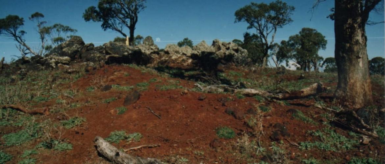 RHOS Gossan outcrops 1995