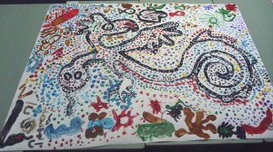 Imaginary composite animal